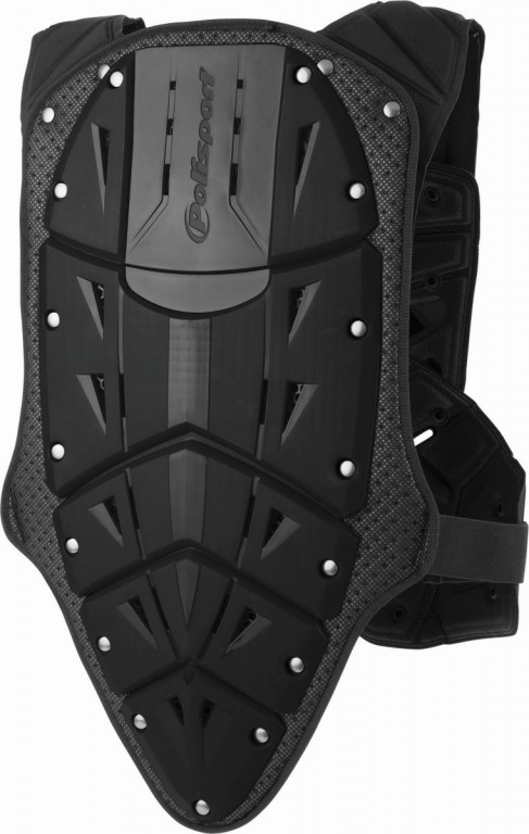 Chest & back protector ROCKSTEADY FUSION short version black