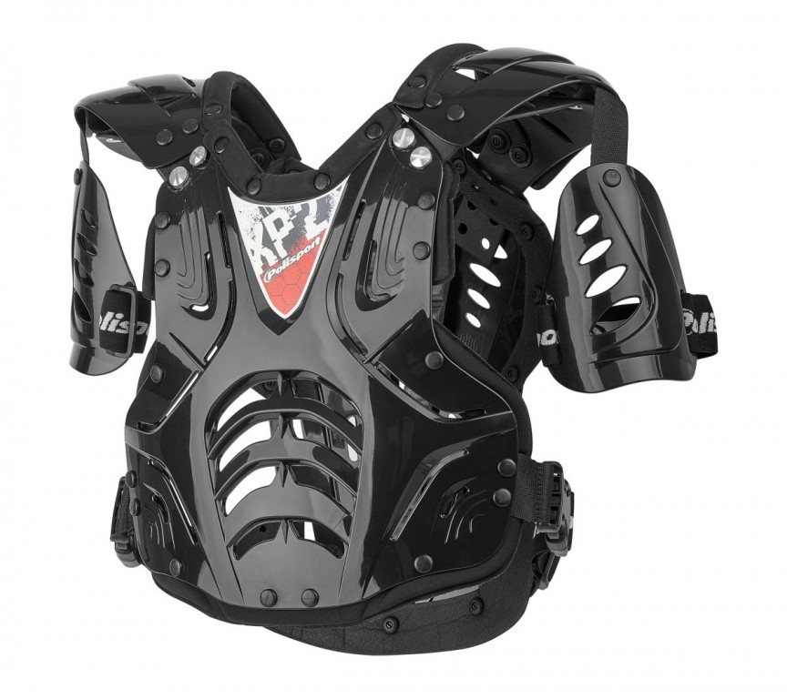 Chest Protector XP2 ADULT black/silver/black